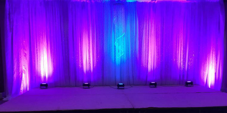 Uplighting-Zzeeh Events and Wedding