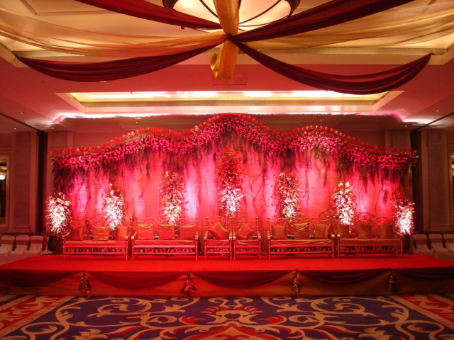 artificial flower for marriage decoration