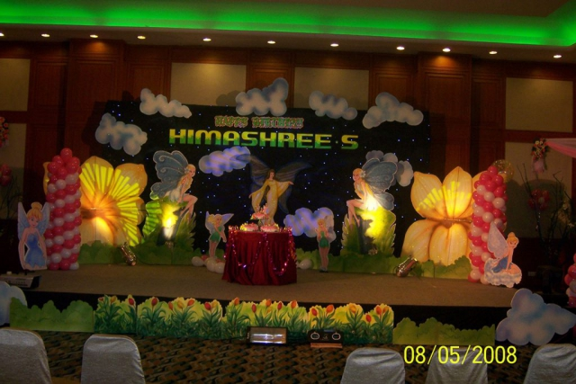 event management for birthday