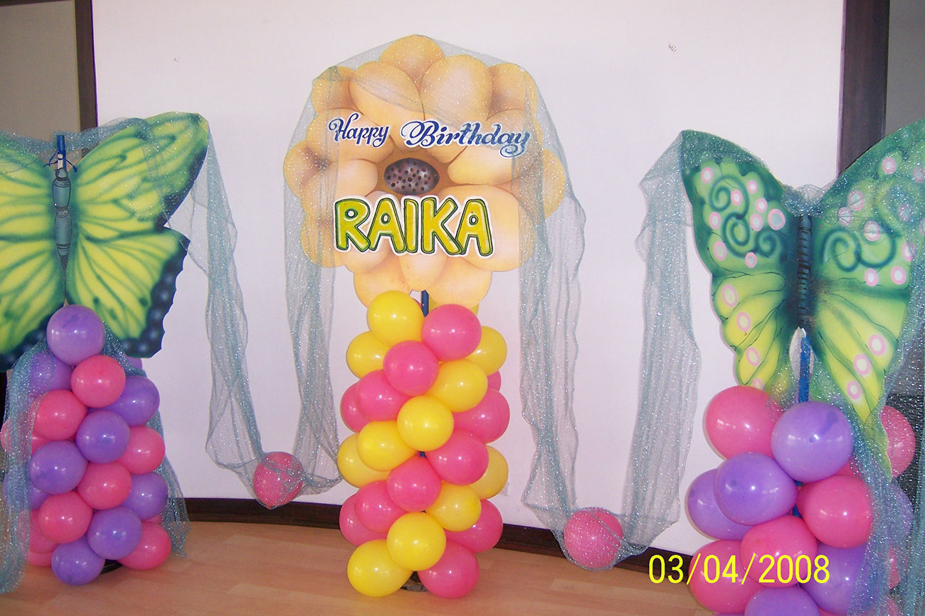 event management for birthday party by zzeeh