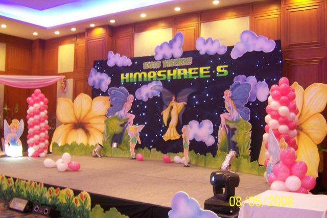 event management for birthday zzeeh
