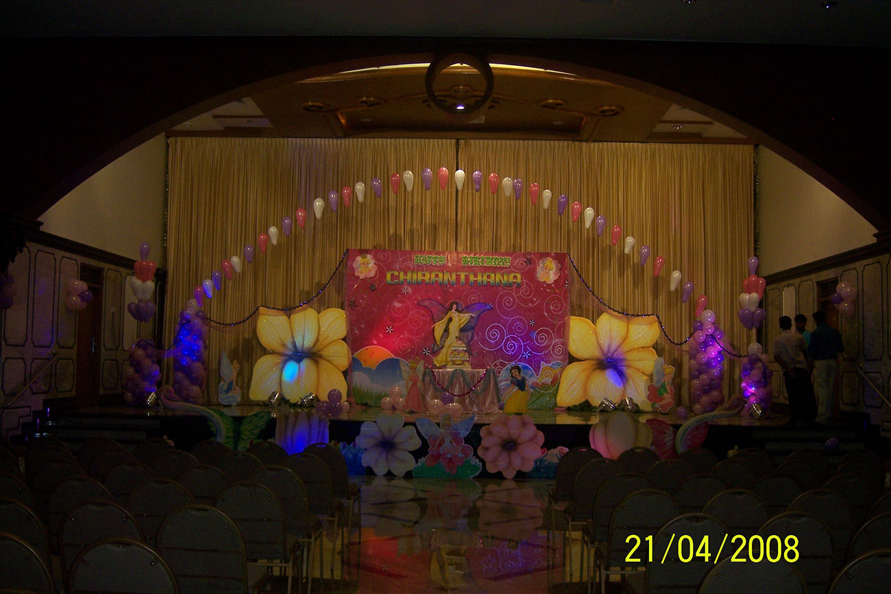 event management of birthday party by zzeeh