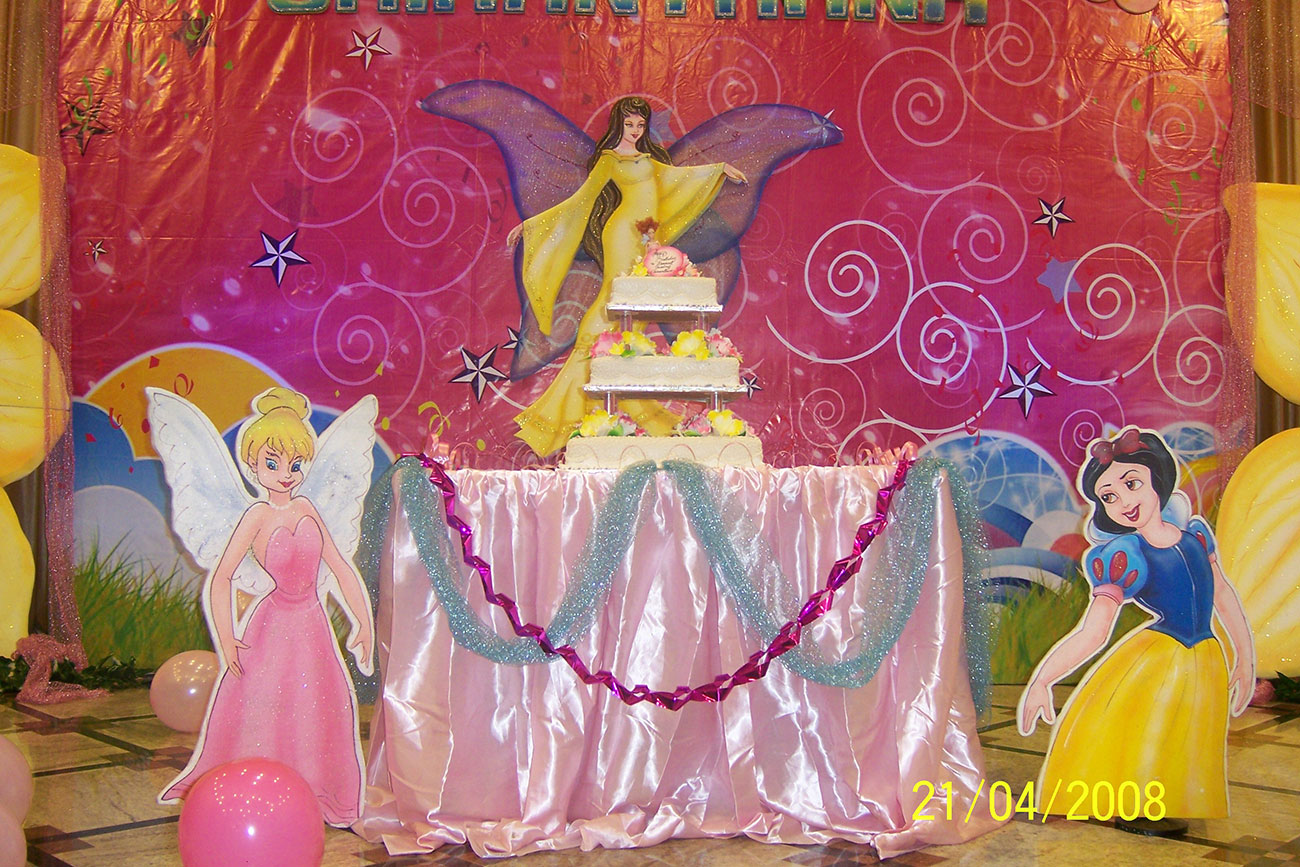 event management of birthday party zzeeh