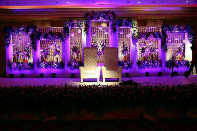 flower decoration for wedding stage zzeeh