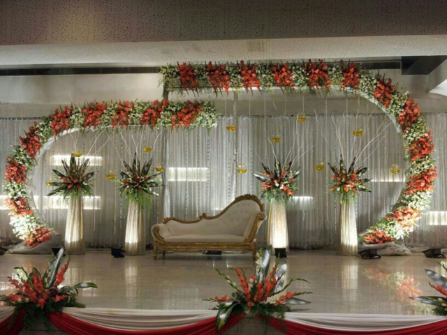 flower decoration marriage function by zzeeh