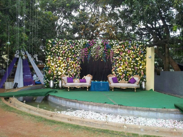 flower decorations marriage function