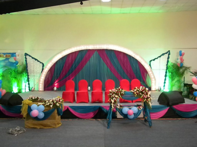 marriage decoration stage image