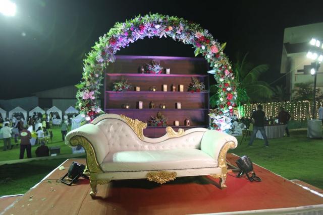 marriage hall decoration designs