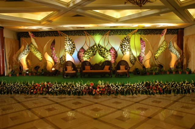 marriage hall decorations design