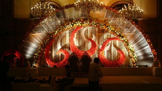 marriage reception decoration photos