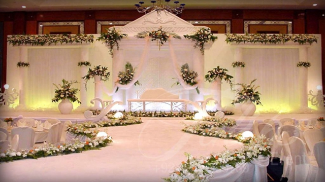 marriage stage decoration by zzeeh