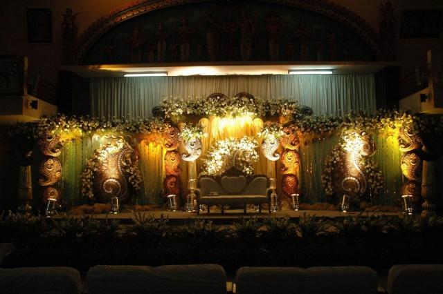 marriage stage decoration design
