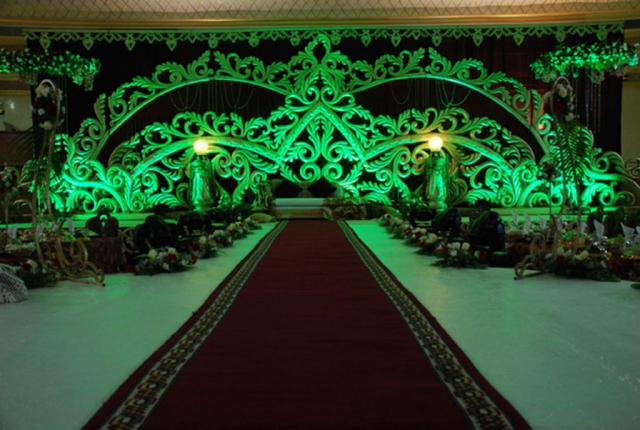 marriage stage decoration design by zzeeh