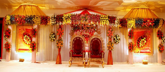 marriage venue decoration
