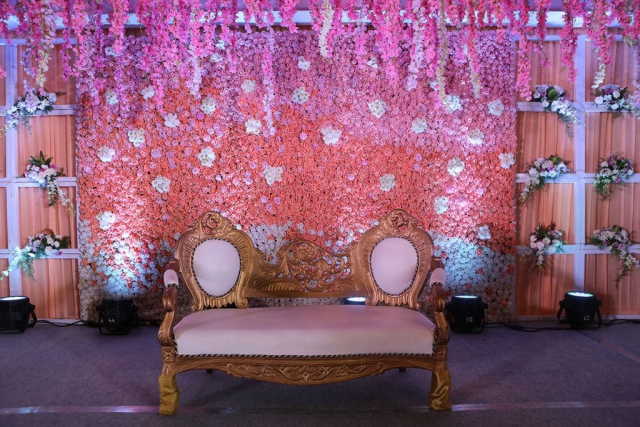 marriage venue decoration by zzeeh