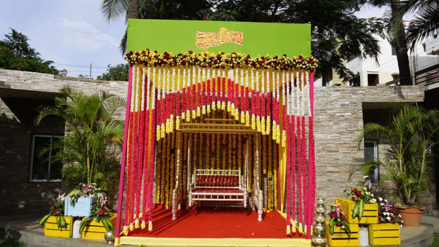marriage welcome decoration