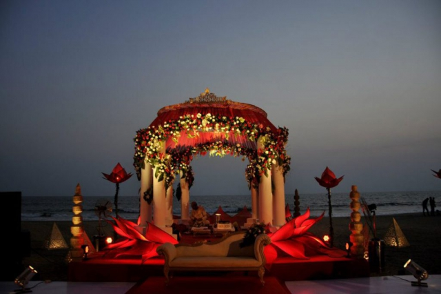 marriages decoration simple