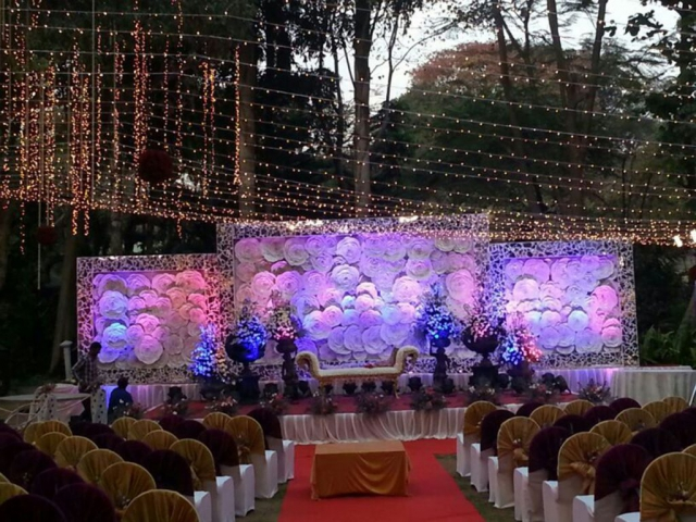pictures of wedding reception