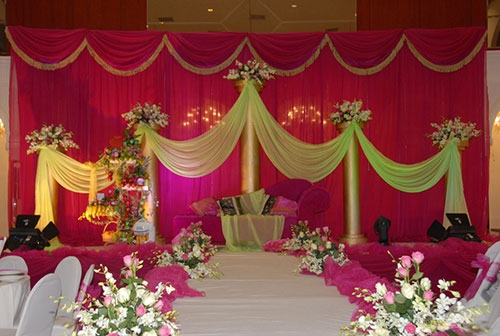 wedding planners and decorators
