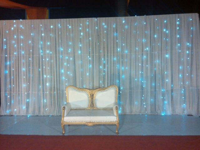 wedding reception decor without flower by zzeeh