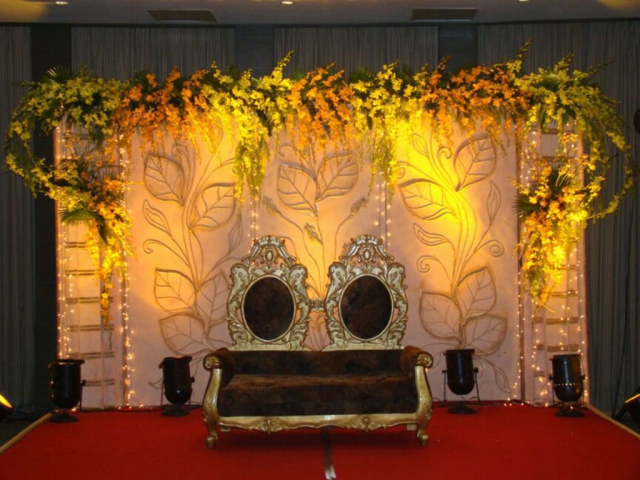 wedding reception decoration simple