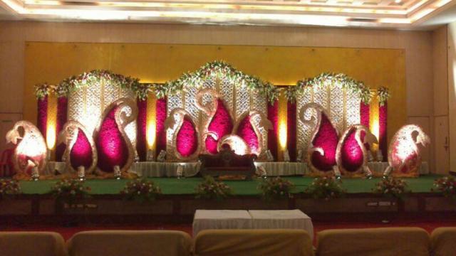 wedding reception decorations simple