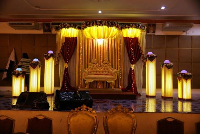 wedding stage decorator in bangalore